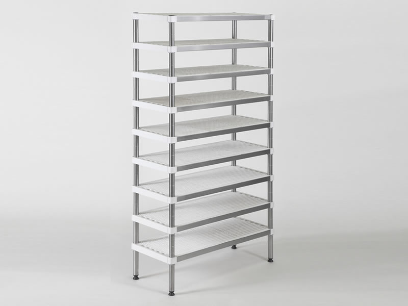 INOXPLAST shelves series
